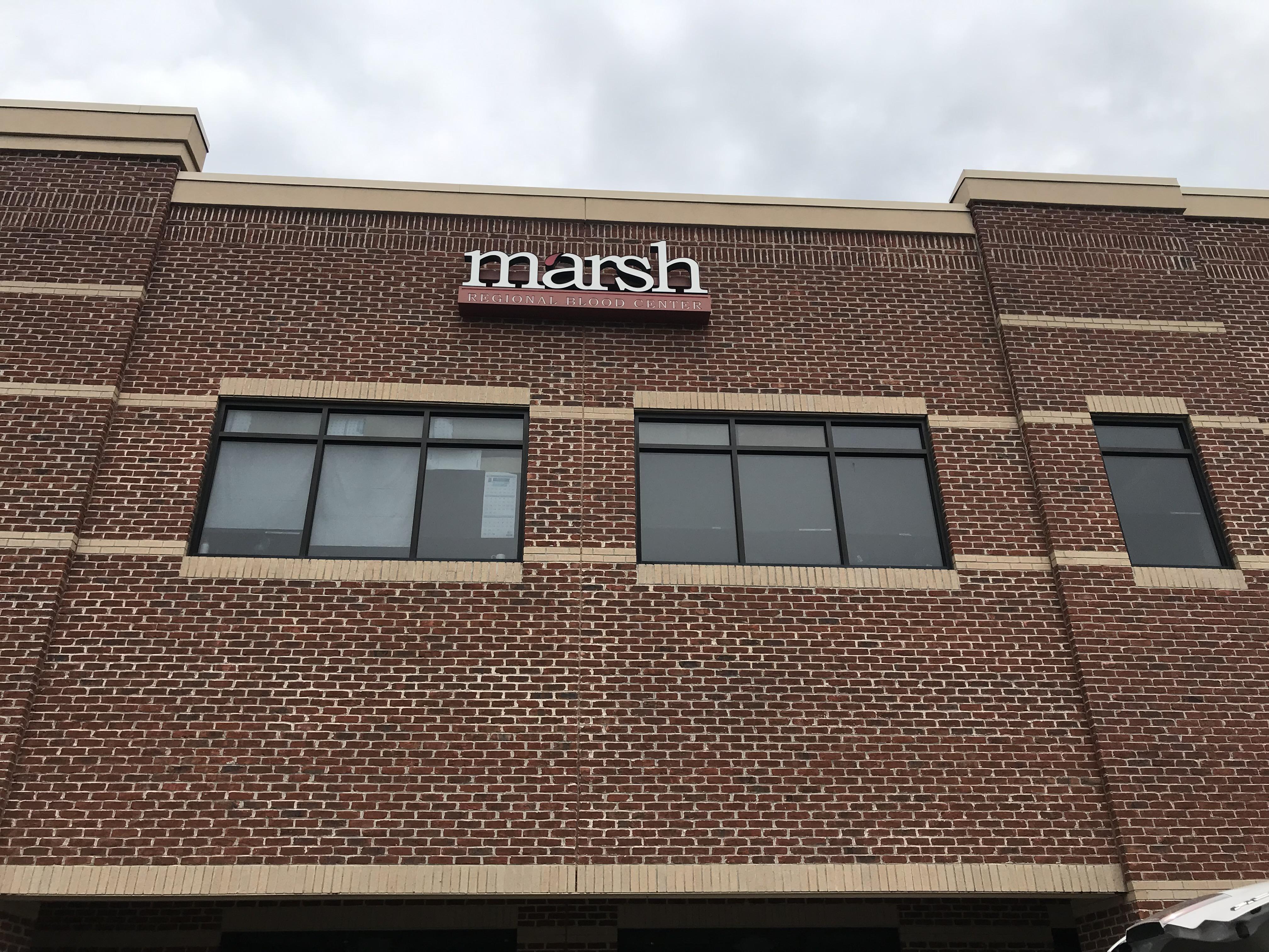 Marsh Regional Blood Center building in Johnson City